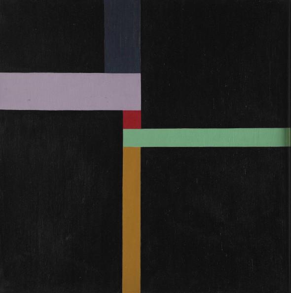 Cuadrado a partir de nueve restángulos, 1945. Max Bill. Harvard Art Museums/Fogg Museums.