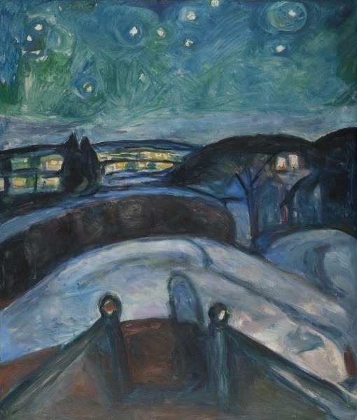 Stjernenatt, 1922-24