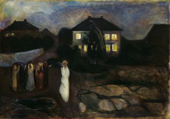 Munch, Edvard (1863-1944): La t, 1893. New Y