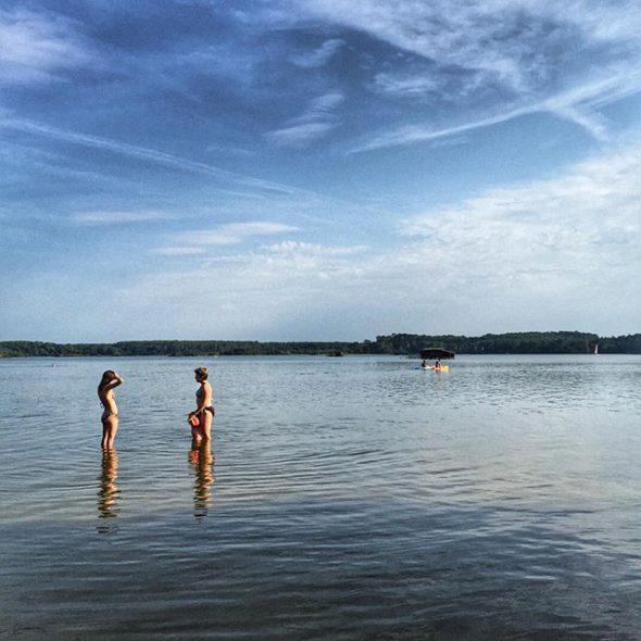 El lago blanco en Las Landas, Francia. Foto: Manuel Cuéllar.