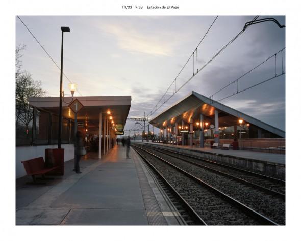Estación de El Pozo. Foto: Eduardo Nave.