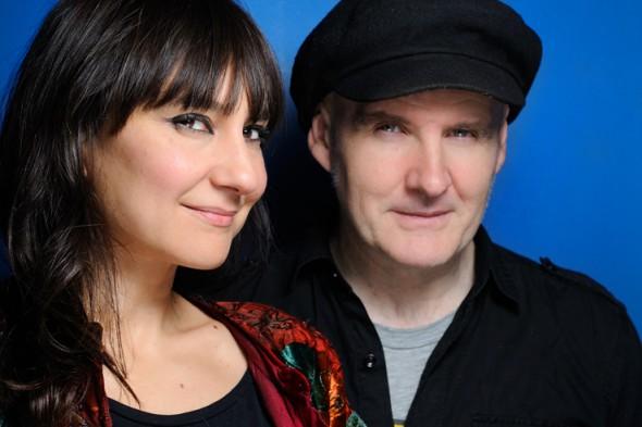 Eva Amaral y Juan Aguirre. Foto: Roberto Villalón.