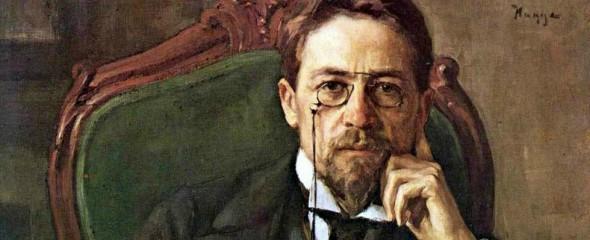 Retrato de Chéjov.