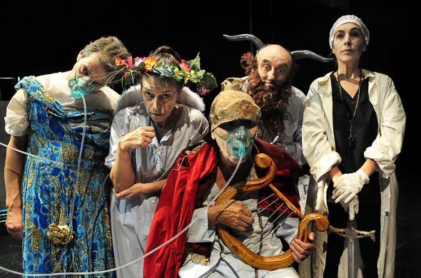 La compañía La Zaranda Teatro.
