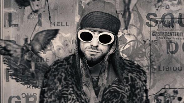 Kurt Cobain en una imagen del documental
