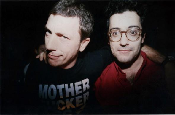 Jaime Gonzalo e Ignacio Juliá, fundadores de la revista Ruta 66.