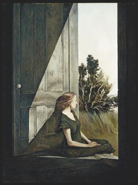 Andrew Wyeth. 'Christina Olson, 1947'. Myron Kunin Collection of American Art.