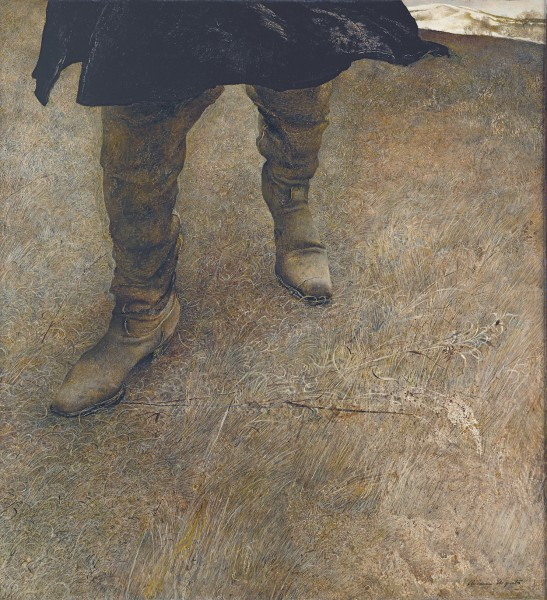 Andrew Wyeth. 'Hierba pisada', 1951. The Andrew and Betsy Wyeth Collection.