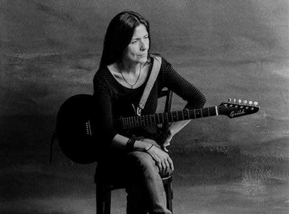 La cantautora Cristina Narea.