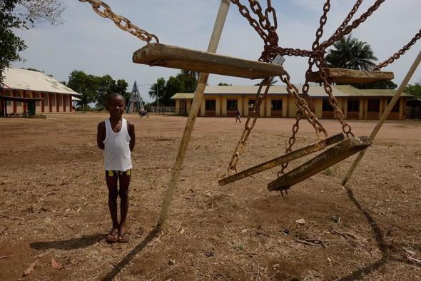 Fotografía del proyecto 'Ébola más allá del Ébola'. Foto: Alfons Rodríguez.
