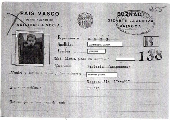 Documentos del exilio del Gobierno Vasco