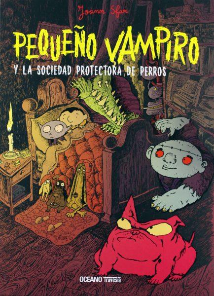 'Pequeño vampiro y la sociedad protectora de perros'.