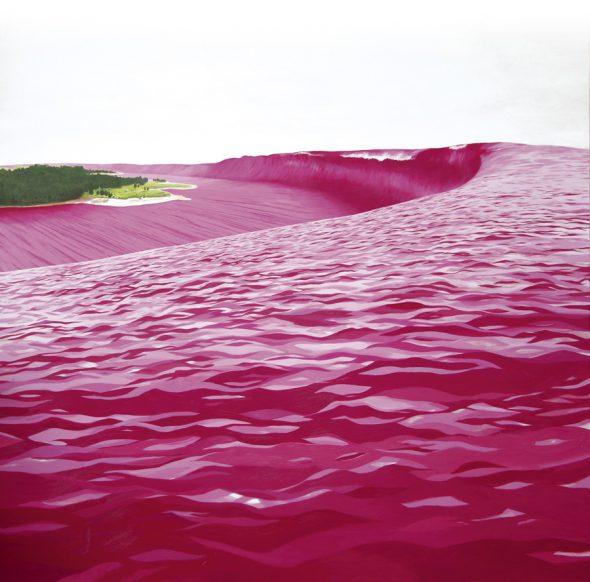 'Tsunami rosa', de Santiago Talavera.