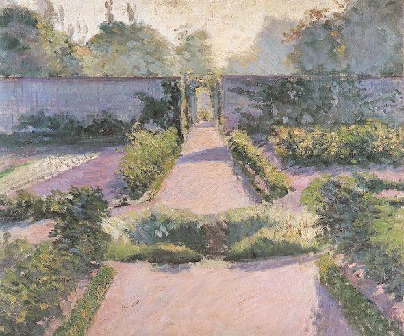 Gustave Caillebotte El huerto, Yerres, 1877 (The Kitchen Garden, Yerres) Óleo sobre el lienzo. 60 x 73 cm Colección privada
