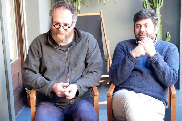 Malcolm Otero Barral y Julián Viñuales dirigen la editorial Malpaso.
