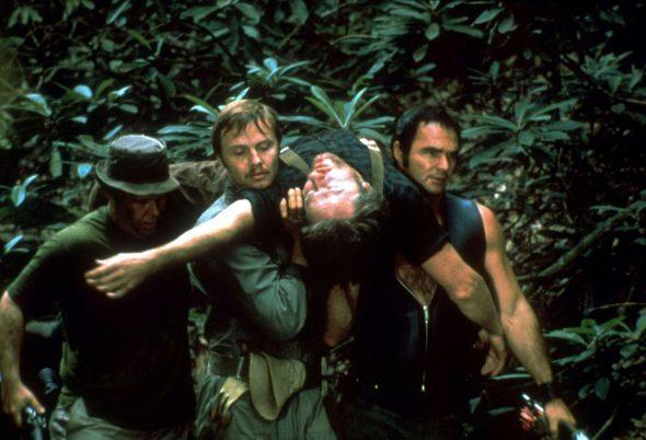 Un fotograma de la película 'Deliverance'.