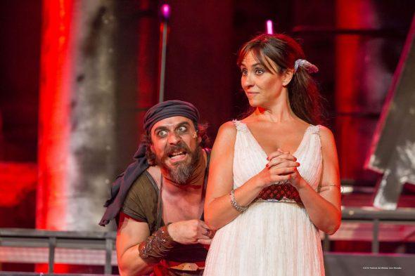 Fele Martínez y Mélani Olivares en 'Los Hilos de Vulcano'. Foto: Jaro