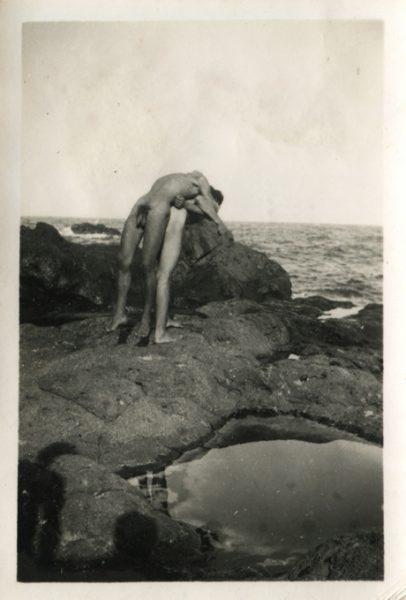 Imagen tomada por un fotógrafo alemán anónimo en Tenerife en los años 40 o 50.