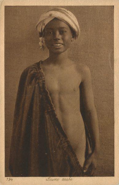 Chico árabe. Fotógrafo anónimo de los años 30.