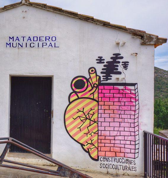 El antiguo matadero municipal de Fanzara. Foto: Manuel Cuéllar.