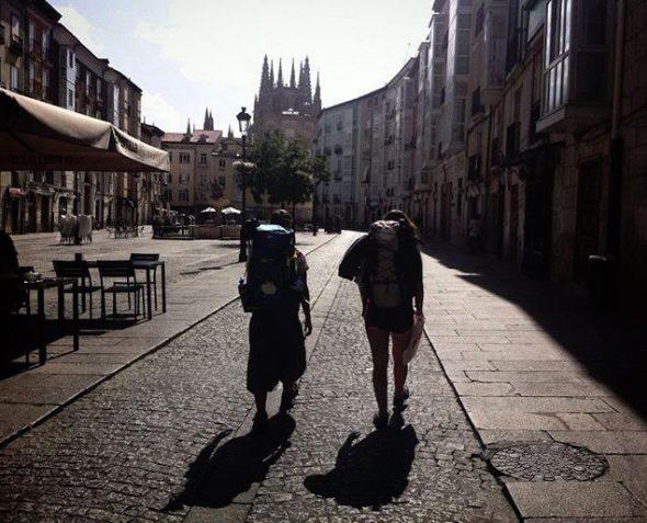 Camino de Santiago, 2016. Foto: Instagram/@meri1709