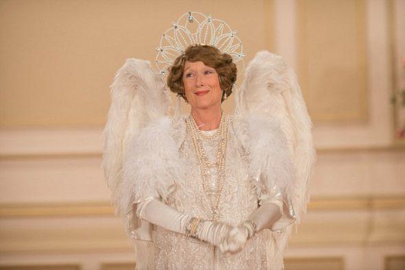 Meryl Streep como Florence Foster Jenkins en la película del mismo nombre.