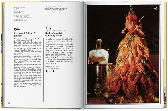Recetas en la edición inglesa del libro de cocina de Dalí. La edición Española puede adquirirse desde hoy.