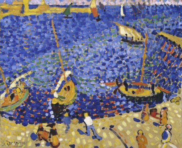 André Derain, Bateaux à Collioure, 1905 Kunstsammlung Nordrhein-Westfallen, Düsseldorf Adquirido en 1965 gracias a una donación de Westdeutschen Rundfunks. ©André Derain, VEGAP, Madrid, 2016 © VG Bild-Kunst, Bonn