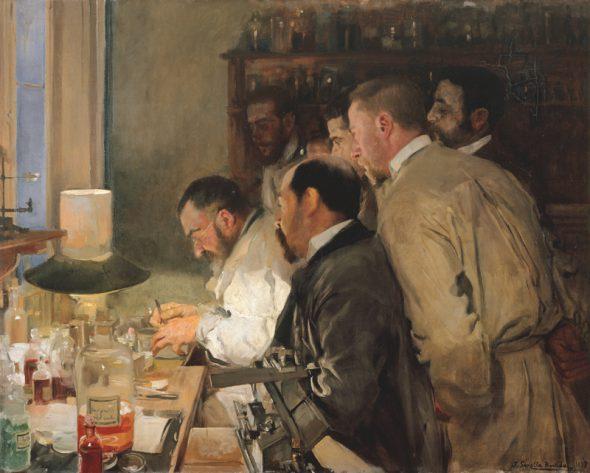 Joaquín Sorolla. Una investigación. 1897. Museo Sorolla.