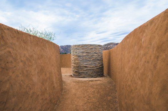 Casa 8 Bruma. En el valle de Guadalupe en México. Obra del Taller de Arquitectura Contextual. Foto: Humberto Romero, Gabriela Huerta.