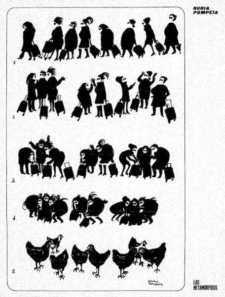 Las metamorfosis de Núria Pompeia.