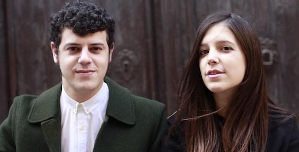 Unai Velasco y Julia Echevarría, responsables de la editorial Ultramarinos de poesía.