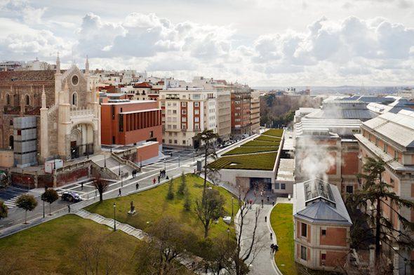 Ampliación del Museo del Prado. 1998-2007. Foto Michael Morán. Rafael Moneo. Cortesía Fundación Barrié.