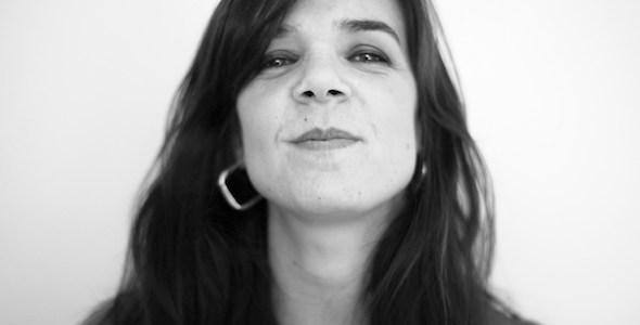La escritora Lara Moreno. Foto: Sarah Bienzobas.