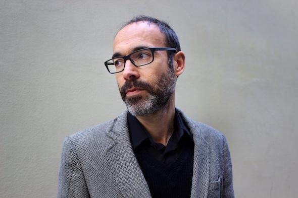 El escritor Gabi Martínez. Foto: Elena Blanco.