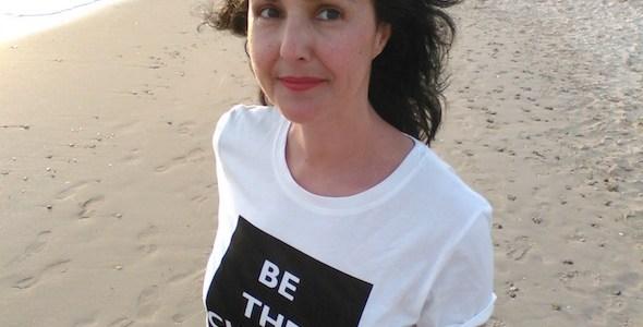 La periodista Brenda Chávez.
