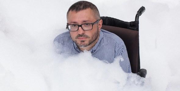 El director de cine Roberto Pérez Toledo.
