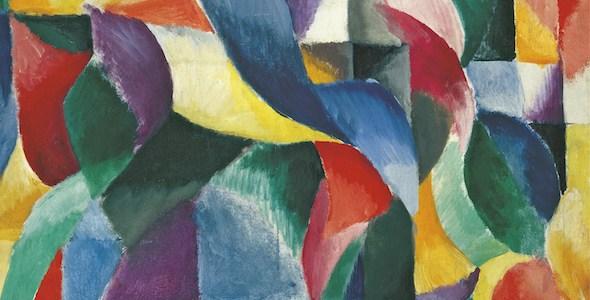 Sonia Delaunay El Bal Bullier, 1913 (The Bal Bullier)