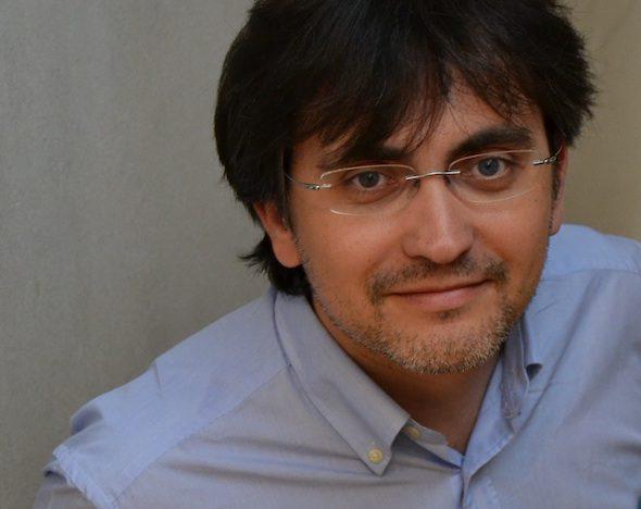 El escritor Gonzalo Torné. Foto: Anagrama.