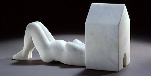 Mujer casa, escultura de Louise Bourgeois.