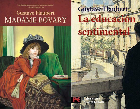 Dos novelas de Flauvert.