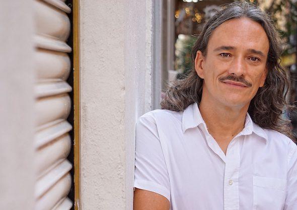 El músico Javier Álvarez en Madrid. Foto: M. Cuéllar.