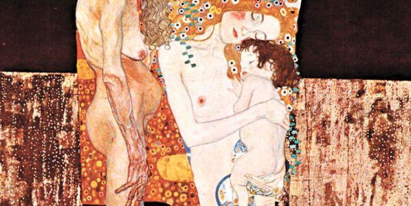 Detalle del cuadro 'Las tres edades de la mujer' de Gustav Klimt.