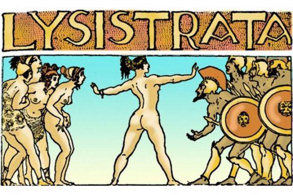 Ilustración de Lisístrata.