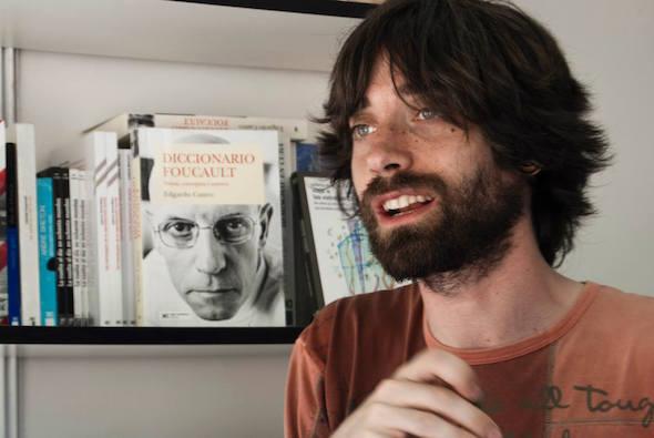 El escritor Juan Gómez Bárcena, Foto: Blanca Díaz.