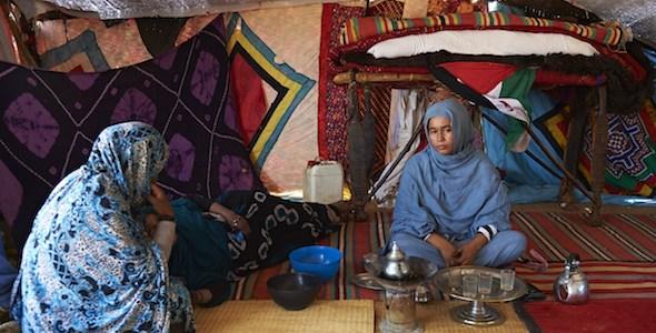 Mujeres Saharauis.