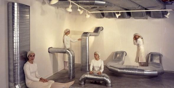 Diana Larrea. 'Sistema de Ventilación'. Una de las obras incluidas en La Cara Oculta de la Luna.