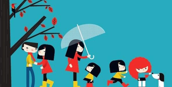 Una ilustración del libro 'Para siempre'.