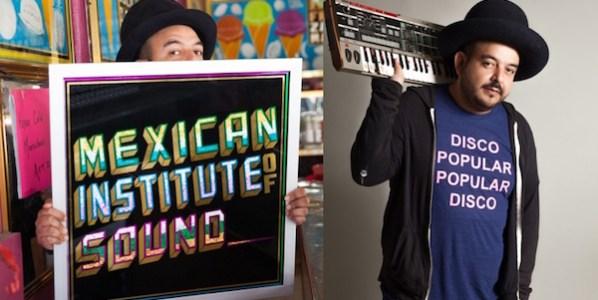 El músico Lara es el Instituto Mexicano del Sonido.