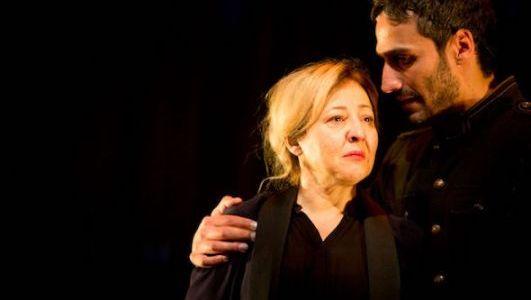 La actriz Carmen Machi en la Antígona de Miguel del Arco.